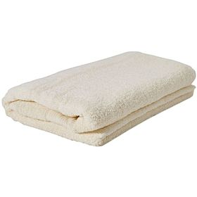 American collection solid pattern -bath sheet, off white