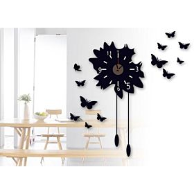 Mirror Wall Clock 3d Decorative Wall Clocks Diy Wall Watches Home Decor
