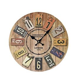 Acrylic Analog/Digital Clock - Wall Clocks
