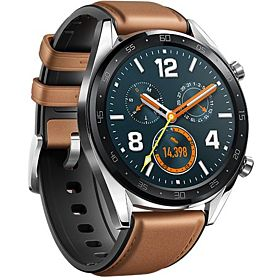 HUAWEI WATCH GT Classic Stainless steel Saddle Brown Hybrid