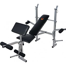 Marshal Fitness Weight Bench Deluxe Exercise Bench Multi Option-BLI-80
