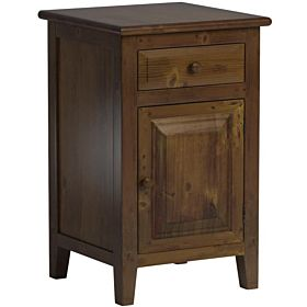Porthos Home Antique Revival CB127B NAT Evelynn Nightstand