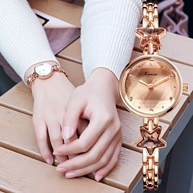 Kimio Ladies Fashion Analog Watch Gold K6201S