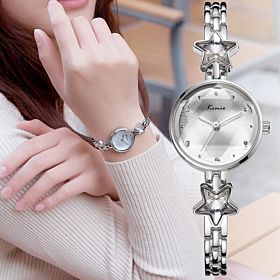 Kimio Women and ladies Fashion Analog Watch White K6201S