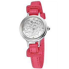 Kimio Casual Analog Leather Watch For Women Pink - KW215