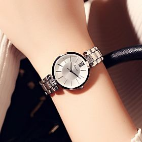 KIMIO Fashion Women Elegant Rhinestones Quartz Watch KW6133S