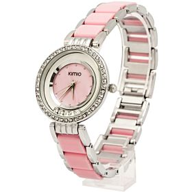 Kimio Ladies Analog Stainless Steel Watch KM014