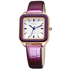 Kimio Ladies Casual Analog Leather Watch - KW5102