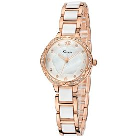 Kimio Ladies Fashion Analog Wrist Watches With Crystal