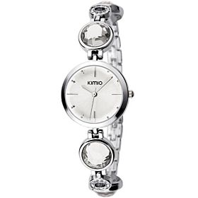 Kimio Fashion Ladies Watch-NO.46 White