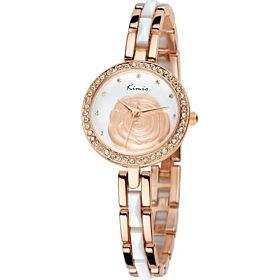 Kimio Stainless Steel Ladies Watch KW500 GW