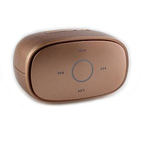 KINGONE K5 Mini Wireless APP Bluetooth Stereo Music Speaker (Golden)