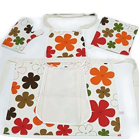 High Quality kitchen Apron SET (Made in Turkey)