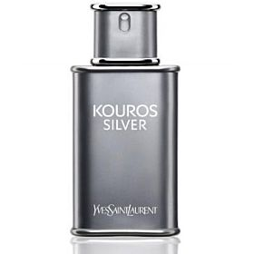 Kouros Silver Yves Saint Laurent for Men  Eau de Toilette, 100ml