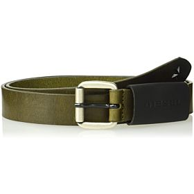 Diesel Men's B-Astar-Belt, Ivy Green, 85-95 cm