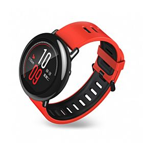 Smart Watch With Heart Rate Monitor RED
