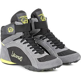 Lackpard Grey & Yellow  Fashion Sneakers For Men