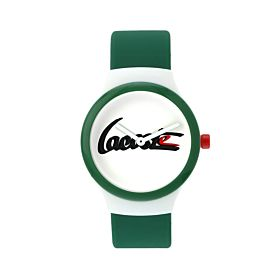 Lacoste Men's Water Resistant Silicone Analog Watch 2010942