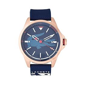 Lacoste Men's Water Resistant Rubber Analog Watch 2020132