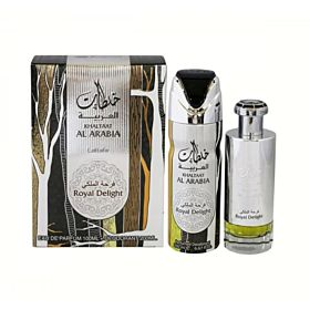 lattafa khaltaat al arabia royal delight for unisex edp 100ml