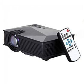 Mini LED Projector UC46, WiFi Ready With HDMI, VGA, AV, USB, SD Card Slot