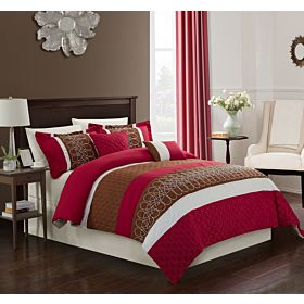 Carolin home linen 8 pcs comforter sets  Model: Legend-01