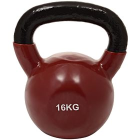 Marshal Fitness 16 Kg Kettle Bell Dumbbell, Brown