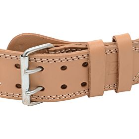 Marshal Fitness 4 inch 2 Star Weight Lifting Belt, Beige