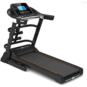 Marshal Fitness Hi Capacity Low Noise Two Motors Heavy Duty Home Use Treadmill-SPKT-3280-4
