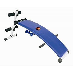 Marshal Fitness Sit Up Bench with Dumbbell and Spring, 10