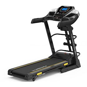 Marshal Fitness Six Level Shock Absorption Home Use Treadmill With Mp3 And LCD Display-PKT-175-4