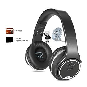SODO Twist Out Loud Speaker Bluetooth Headphone, Silver - MH1