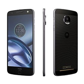 Motorola Moto Z - 32GB, 4GB RAM, 4G LTE, Black with Lunar Gray Trim