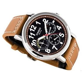 CASIO LEATHER STRAP STANDARD MULTIFUNTION WATCH FOR MEN MTP-E309L-2B2VDFDI