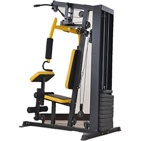 Marshal Fitness Home Use Multi Station 100 lbs Weight Stack Home Gym With Cover-MFLI-2009