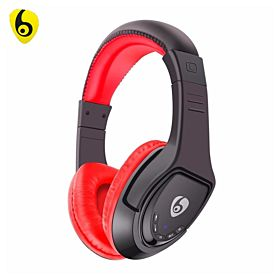 Music Wireless Headset MX333 - Red