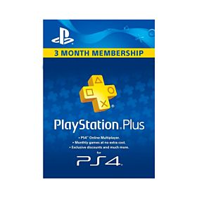 Sony PlayStation Network Card - 90 Days Membership, UAE Account