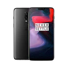 OnePlus 6 Dual Sim - 128GB, 6GB RAM, 4G LTE, Midnight Black