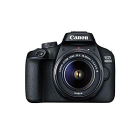 Canon EOS 4000D 18 Megapixel CMOS DSLR Camera With 2.7 Inch LCD & EF-S 18-55 mm f/3.5-5.6 III Lens