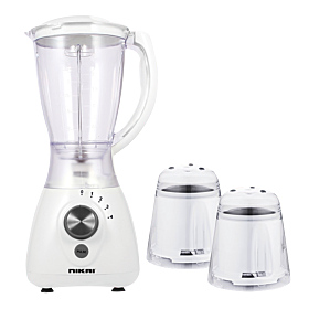 Nikai 3-In-1 Blender NB1900NA White