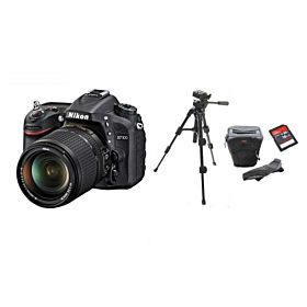 Nikon D7100 18-140mm Kit Lens + Tripod + DSLR Bag + 16GB SDHC Memory Card Bundle Kit