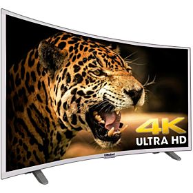 Nobel 55 Inch Curved Smart TV Silver - UHDC5500S1