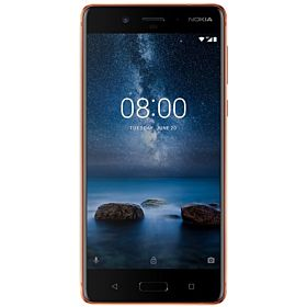 Nokia 8 Dual SIM - 64GB, 4GB RAM, 4G LTE, Polished Copper
