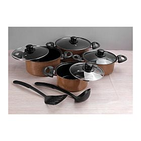 Epsilon 10 Pcs Non-Stick Cookware Set, EN-4141