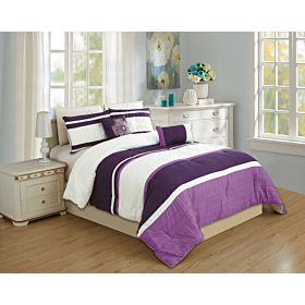 carolin home linen 8pcs comforter sets- model: nova-02
