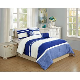 carolin home linen  8pcs comforter sets- model: nova 04