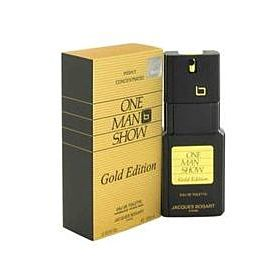 One Man Show Gold By Jacques Bogart Eau De Toilette Spray Men-