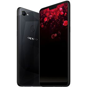 OPPO F7 Dual SIM - 128GB, 4GB RAM, 4G LTE, Diamond Black