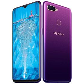 Oppo F9 Dual SIM - 64GB, 4GB, 4G LTE, Starry Purple