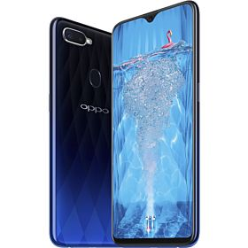 Oppo F9 Dual SIM - 64GB, 4GB, 4G LTE, Twilight Blue